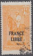 Madagascar 1940-1960 - N° 246 (YT) N° 261 (AM) Oblitéré. - Used Stamps