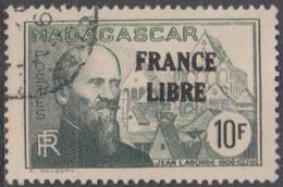 Madagascar 1940-1960 - N° 254 (YT) N° 269 (AM) Oblitéré. - Used Stamps