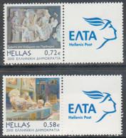 Grecia 2010 Correo 2523/A/B Nuevo Museo Acropolis (2v)  **/MNH - Ongebruikt