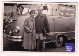 Bus à Identifier - Foto Thiele Kaisereiche 8,5x6cm - 1950s Photo Autobus Car Autocar Voyage Tourisme D2-266 - Andere