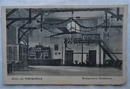 CPA 1922 Gruss Aus Scherpenberg / Moers/ Restauration Brinkmann - Moers
