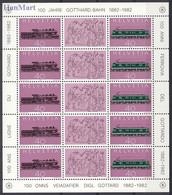Switzerland 1982 Mi 1214-1215 MNH ( ZE1 SWTark1214-1215dav12F ) - Non Classificati