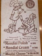 1 BUVARD MONDIAL POLISH - Wash & Clean