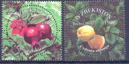 2018. Uzbekistan, Fruits Of Uzbekistan 2v, Mint/** - Uzbekistan