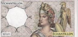 2 Billets échantillon Type Athena Neuf (port Compris) - Specimen