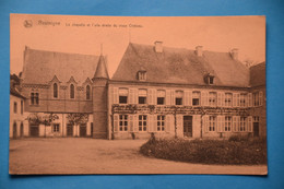 Resteigne Près De Tellin: La Chapelle Et L'aile Droite Du Vieux Château - Tellin