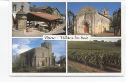 CPSM GF - VILLARS LES BOIS - BURIE  - EGLISEs Romanes - Lavoir -  Vignobles - - Other Municipalities