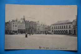 Ath1908: Grand Place Avec Hôtel De Ville Animée - Ath