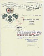 CHÂTELET - BRASSERIE F. Delbruyère SA  1929 - Food