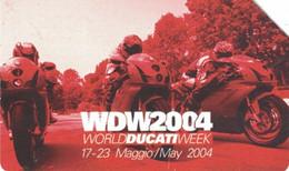 USATE › Ducati Emozioni Ad Alta Velocità - WDW2004 - Publiques Figurées Ordinaires