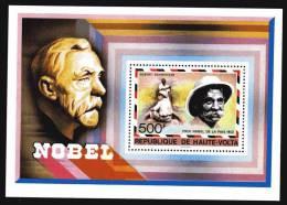 Haute Volta B.F. N° 8 XX Albert Schweitzer,  Prix Nobel De La Paix 1952,  Le  Bloc Sans Charnière TB - Upper Volta (1958-1984)