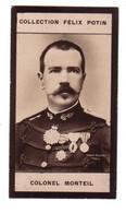 Colonel MONTEIL (PHOTO LADREY) Explorateur Au SOUDAN & TCHAD  -Collection FELIX POTIN  -TRES BON ETAT - Personalità