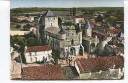 CPSM GF - EN AVION AU-DESSUS DE... ECOYEUX  - L'Eglise - Edit LAPIE - Vue Aérienne - N°1.k - Other Municipalities