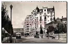 CPM Rennes Avenue Janvier Au Fond Le Palais St Georges - Rennes