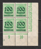 MiNr. 290 ** Bogenecke, Formnummer 6 - Nuevos