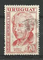 URUGUAY 1959  / N° 660 -   Oblitéré N° Yvert & Tellier - Uruguay