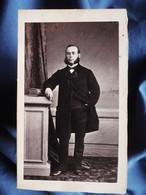 Photo CDV Eugène De Paris à Toulon - Homme Aux Favoris En Pied, , Mr Demeyer, Second Empire Circa 1860 L354A - Oud (voor 1900)