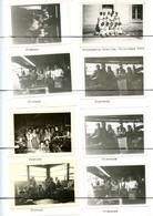 12 PHOTOGRAPHIES . Tricoterie CHEILLY PIERRANY. Personnels Féminines Devant Et A L'intérieur De L'usine Année  1944 - Plaatsen