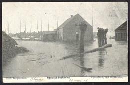 MOERZEKE-BOOKMOLEN Les Inondations / De Overstromingen Verzonden 1906 Van THIELT - Andere