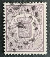 Nederland/Netherlands - Nr. 18Da Met Puntstempel 4 - Used Stamps