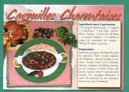 Recette Des Cagouilles Charentaises ( Escargots ) Edt Artaud - Küchenrezepte