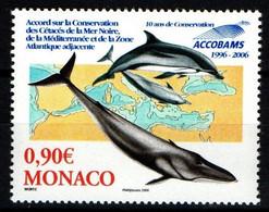 "MONACO 2006 : N° 2554 -  "" 10 ème Anniversaire D'ACCOBAMS"" "" - Neuf** - - Neufs"
