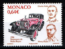 """MONACO 2006 : N° 2556 - """" Rolls Royce """" - Neuf** - - Neufs"""