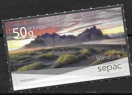 Islande 2018 N°1494 Neuf SEPAC Vestrahorn - Nuovi
