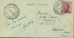 YT Poste Italiane 108 Gérance CAD Piccolo San Bernardo (63-225) 15 7 24 Cachet Ospizio Del Piccolo Valle D'Aoste Ordine - Marcofilie