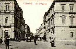 ITALIE - Carte Postale De Taranto - Via D'Aquino - L 86624 - Taranto