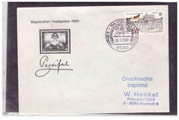 """TEM13367  -  BAYREUTH  26.7.1982   / COVER  """"R.WAGNER FESTSPIELE """" - Musik"""