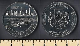 Singapore 5 Dollars 1982 - Singapore