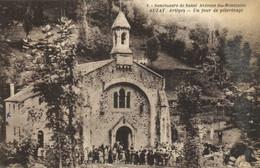 Sanctuaire De St Antoine Du Montcalm AUZAT (Ariège) Un Jour De Pèlerinage Animée RV - Sonstige Gemeinden