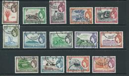 Tristan Da Cunha Set Sg14 1954 Superb Used Sg14/27 Vfu Definitive Set - Tristan Da Cunha