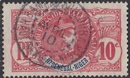 Haut-Sénégal Et Niger - Bamako-Koulouba Sur N° 5 (YT) N° 5 (AM). Oblitération De 1910. - Oblitérés
