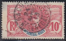 Haut-Sénégal Et Niger - Gaoua Sur N° 5 (YT) N° 5 (AM). Oblitération De 1913. - Oblitérés