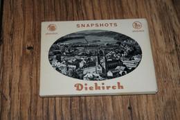 LUXEMBOURG, DIEKIRCH, SNAPSHOTS, 10 FOTO'S  / CA. 7 X 9 CM. - Unclassified