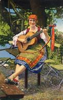 DC297 - Ak Frauen Schöne Motivkarte Junge Dame Mädchen Frau Gitarre - Mujeres