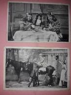 78- POISSY - CARTE PUBLICITE LA BELLE JARDINIERE - MARQUISETTE AU  BOIS- Enfants - Pubblicitari