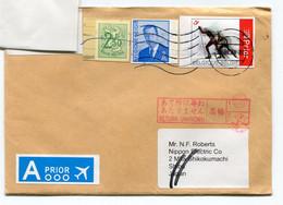 """Enveloppe Naar Shiba Japan - Rode Stempel """" Return Unknown """" Rugzijde """" 108 Takanawa - 13. X .20 Japan """"   Retour RTS - - Cartas"""