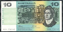 Australia - 10 Dollars 1991 - Pick 45g - 1974-94 Australia Reserve Bank (papier)