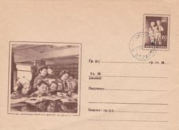 Roemenië, Entier Postal, Leesles, Padvinders - Buste