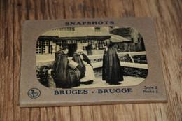 BELGIE, BRUGGE  BRUGES, Snapshots  Instantanés 10 FOTO'S  / CA. 7 X 9 CM. - Unclassified