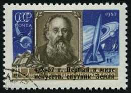 SOWJETUNION 2026 O, 1957, 40 K. Sputnik I, Pracht, Mi. 35.- - Gebraucht