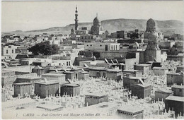 EG17 - Arab Cémetery And Mosque Of Sultan Ali - Le Caire