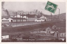 Saône-et-Loire - Le Creusot - Les Ateliers De Moulage - Le Creusot