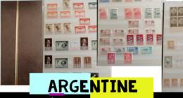 Argentine Une Collection De Poste Aérienne Et Autres. - Collections, Lots & Séries
