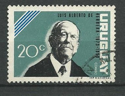 URUGUAY 1964    / N° 719 -   Oblitéré N° Yvert & Tellier - Uruguay