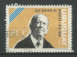 URUGUAY 1964    / N° 721 -   Oblitéré N° Yvert & Tellier - Uruguay