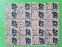 FRANCE 2371b + 2371 Par Paire (10 Exemplaires) Oblitérés - Variétés: 1980-89 Oblitérés